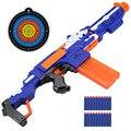 Eléctrica bala suave pistola de juguete nerf rifle de francotirador pistola de juguete de plástico para niños chicos metralleta de juguete mejor regalo