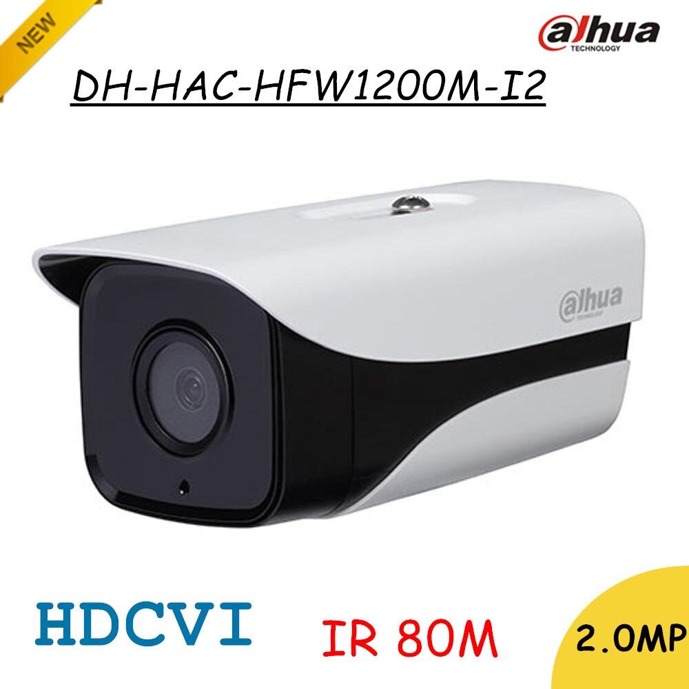 bilder für Marke Dahua 2Mp HDCVI Kamera HD 1080 P DH-HAC-HFW1200M-I2 Netzwerk IR Gewehrkugel-überwachungskamera IP67 IR Abstand 80 mt HAC-HFW1200M-I2
