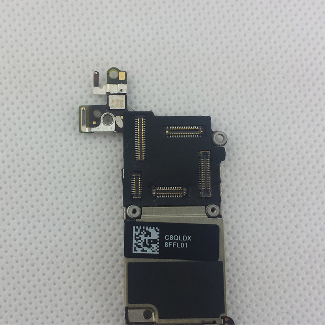 Original Unlocked 32GB for iphone 5C Motherboard, 100% Good Working for iphone 5c Cellphone Boards with Chips,Free Shipping