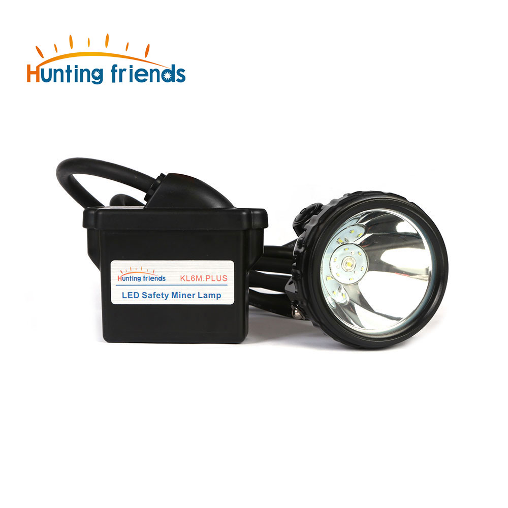 Hunting Friends Lithium Battery Mining Headlamp KL6M.P Rechargeable Headlamp 1+6 LED Mining Cap Lamp Explosion Rroof Headlight high quality 2 mode power 5w led headlight 48000lx outdoor fishing headlamp rechargeable hunting cap light