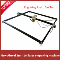 15w Big Power Laser metal Engraver Cutting Machine,1*1m Big Work Size laser Metal Laser DIY Engraving Machine