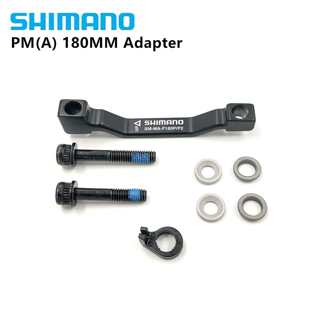 Front 180mm Shimano SM MA F180P//P2 Post Mount Disc Brake Adapter P//P