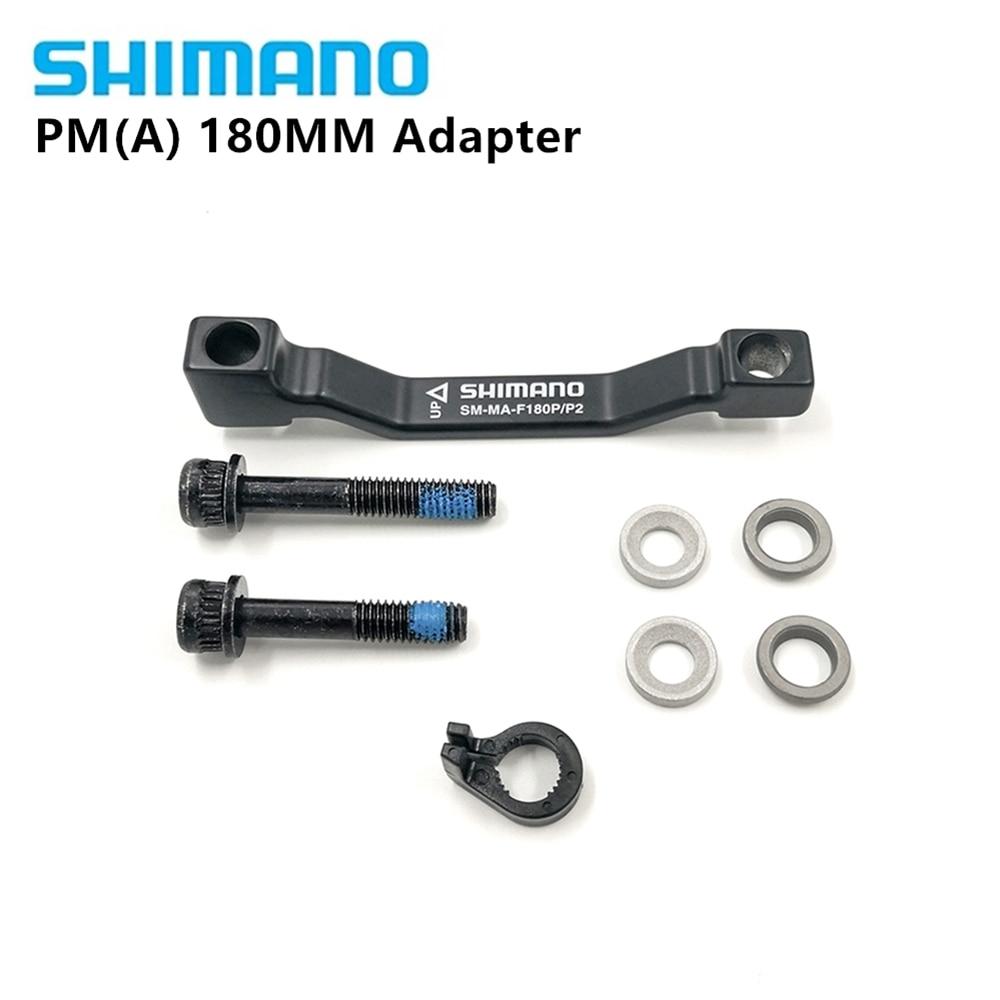 New Shimano Rotor Adapter SM-MA90-F180P//P Front 180mm Postmount