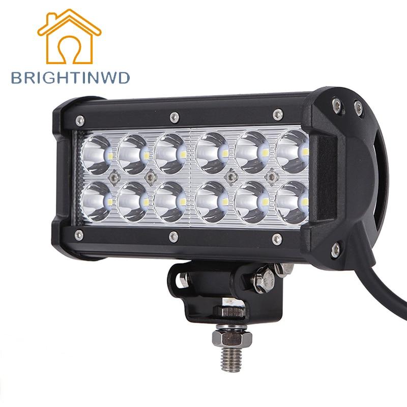 6000K IP67 Waterproof 12v 24v 30v 36w Automobile Working Lights Led Work Lights Car Lighting SUV