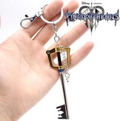 Wellcomics игра Kingdom Hearts Sora Key Keyblade + Paopu фруктовое оружие Золото Металл Подвеска ручной работы брелок Коллекция подарок
