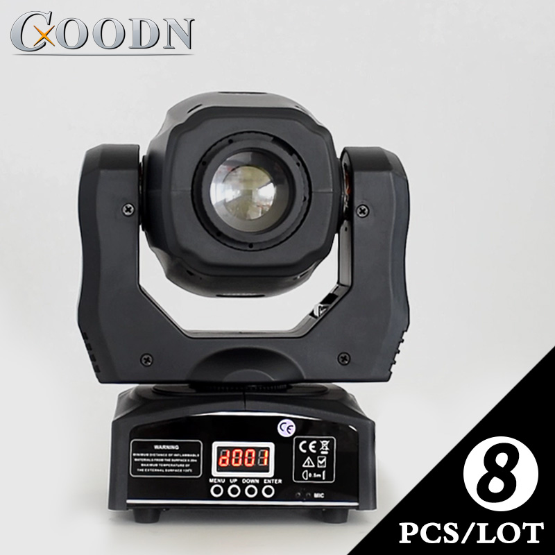 Led Super Bright China Mini Stage Disco Dj 60W Spot Moving Heads Lights 8pieces/lotLed Super Bright China Mini Stage Disco Dj 60W Spot Moving Heads Lights 8pieces/lot