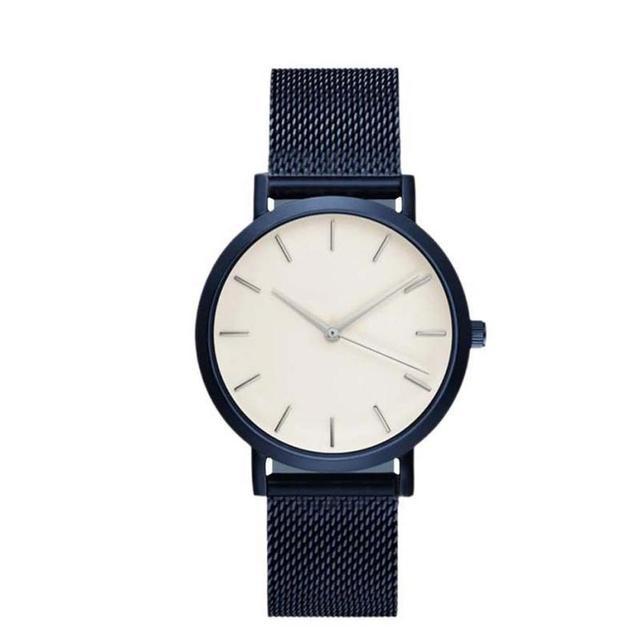 Fashion Women Crystal Stainless Steel Analog Quartz Wrist Watch Bracelet DEC19 1