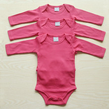 3pcs Cotton Long Sleeve Bodysuit