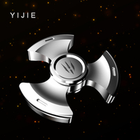 YIJIE Hand Spinner Metal Fidget Spinner Anti Stress Puzzle Christmas Gift Toys to Kids Adults Finger Spiner Toys