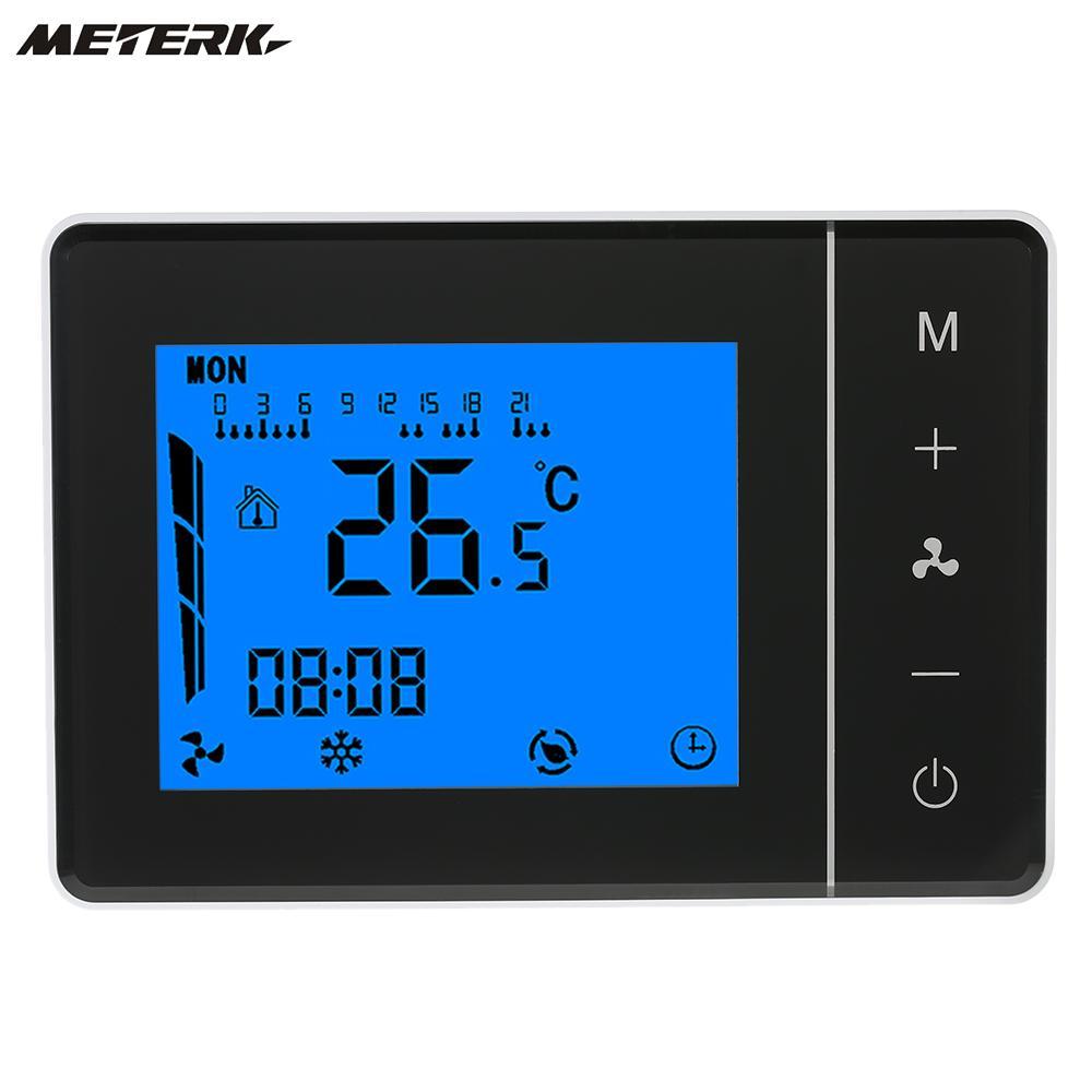 110 230 v climatiseur thermostat dambiance programmable température contrôleur 2 pipe tubes
