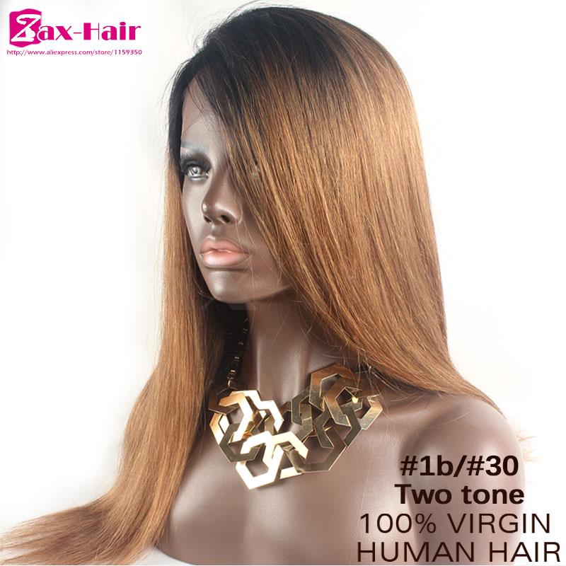 Human hair wigs full lace wig02