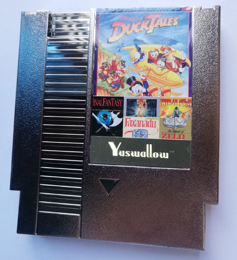 30 in 1 Game Cart NTSC&PAL E@rthbound, Final Fantasy123, Faxanadu, TheZeldaI&II, Zen, 72 Pins Game Cartridge Replacement Shell