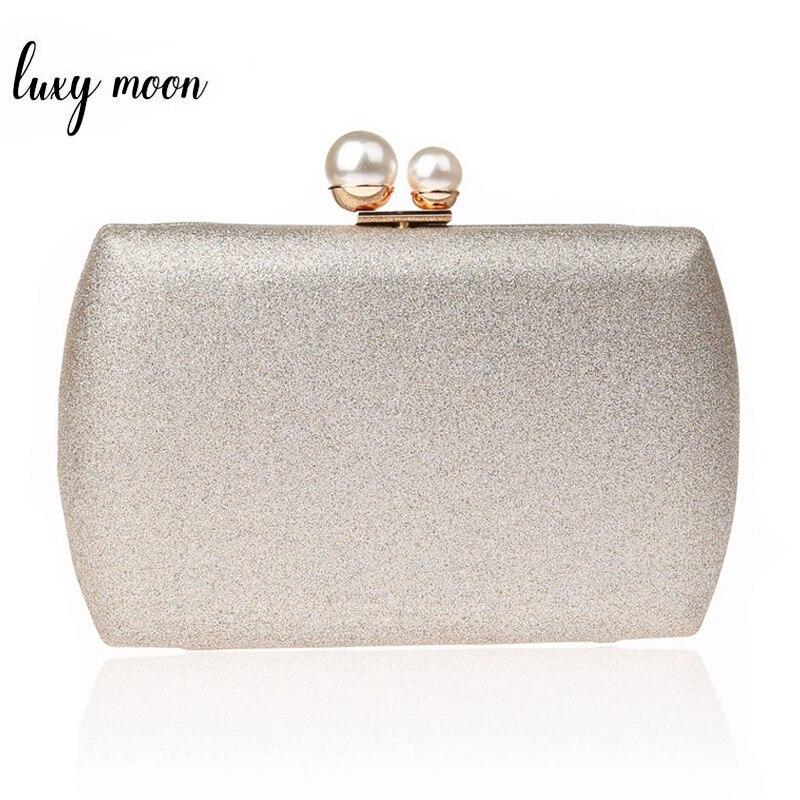 Women Clutch Bags Simple Design Lady Pearl Evening Bag Day Clutches Banquet Wedding Party Purse Elegant Handbags ZD1067