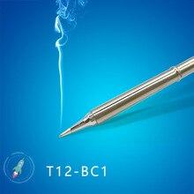 Ferramentas para solda, t12 série T12 BC1 bc1.5 bc2 bc3 bcf1 bcf2 bcf3 ferramentas de solda pontas de ferro
