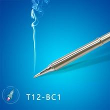 Наконечники для паяльника серии T12 T12 BC1 BC1.5 BC2 BC3 BCF1 BCF2 BCF3, сварочные инструменты