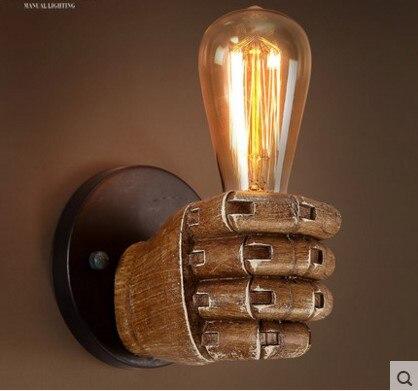 Edison бра Ретро Бра Светильники творческая личность Лофт Промышленные Винтаж настенный светильник лампе