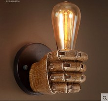 цена на Edison Wall Sconce Retro Country Wall Lamp Fixtures Creative Personality Loft Industrial Vintage Wall Light Lampe