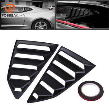 POSSBAY Car Rear Side Window 1/4 Quarter Louver Cover Vents for Chevy Camaro Coupe Autobiles Car Rear Window Stickers - DISCOUNT ITEM  24% OFF Automobiles & Motorcycles