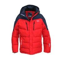 2018 Hot Sale Men Winter Jacket Warm Cotton Winter Coat Mens Patchwork Padded Jacket Parkas Hombre Overcoat European Size