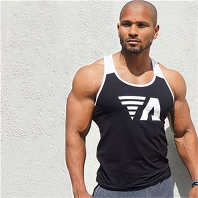 New 2018 Brand mens Summer men Tank Tops Clothing Bodybuilding Undershirt Casual Fitness tanktops tees CYY57 3