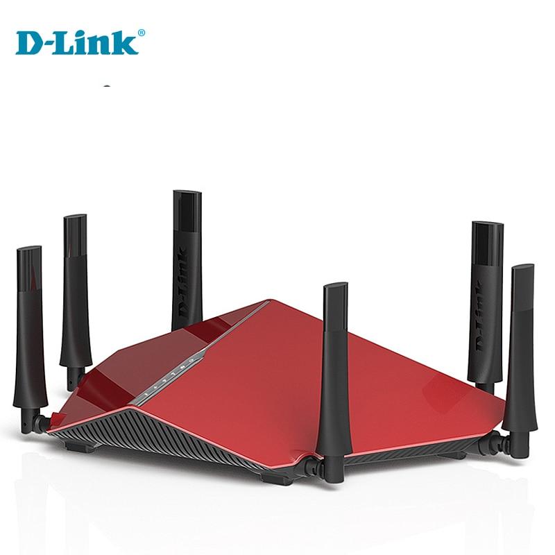 Original Sale D-Link DIR-890L Dlink 3200Mbs Tri Band 6 Antenna 2.4G/5Ghz Home Wireless Router Fiber Cloud ROUTER Strong Coverage