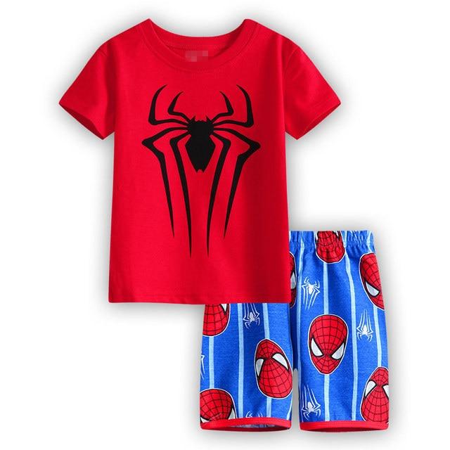 8e26be480ced6 new style children clothes sets boys pajamas kids pajama sets pyjama girls  short sleeve Home Clothing set baby Sleepwear 2T-7T