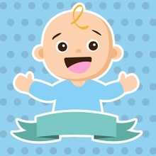 Laeacco Baby Shower Backdrops For Photography Cartoon Figure Party Pattern Portrait Background Photocall Photo Stuio