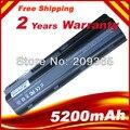 5200 MAH Batería MU06 593553-001 Para HP G6 G62 G72 Notebook PC, envío gratis
