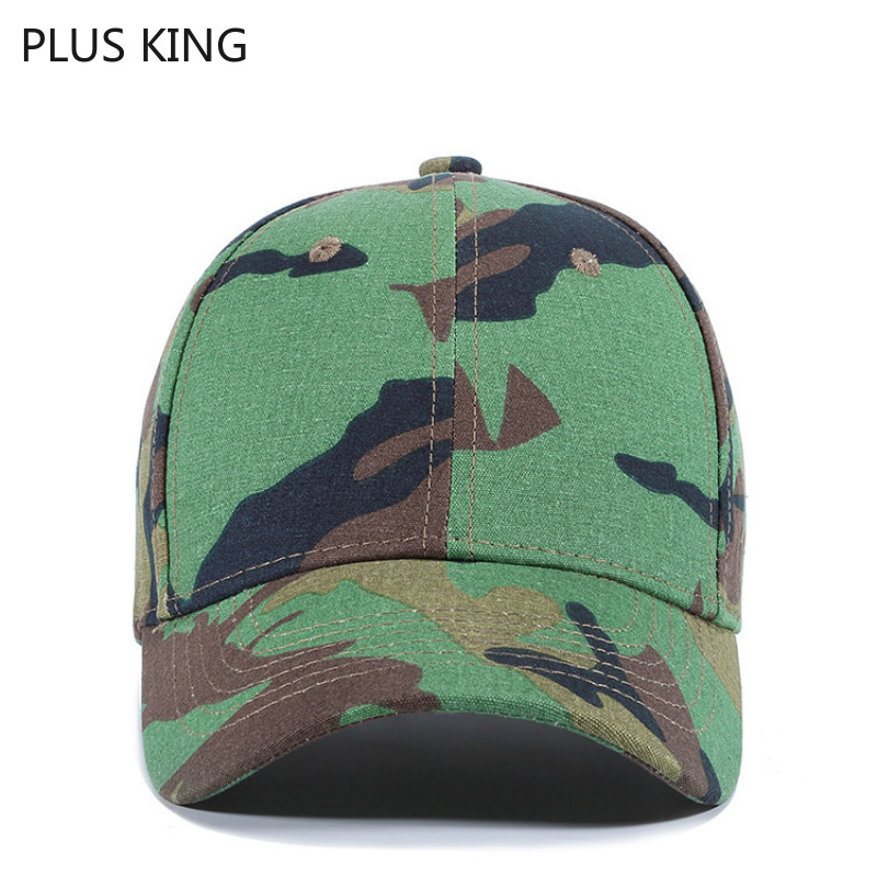 High Quality Outdoor Sports Camouflage Hat Men Baseball Cap Jungle Cotton Fashion Mens Green Camo Dad Hats Adjustable in Men 39 s Baseball Caps from Apparel Accessories