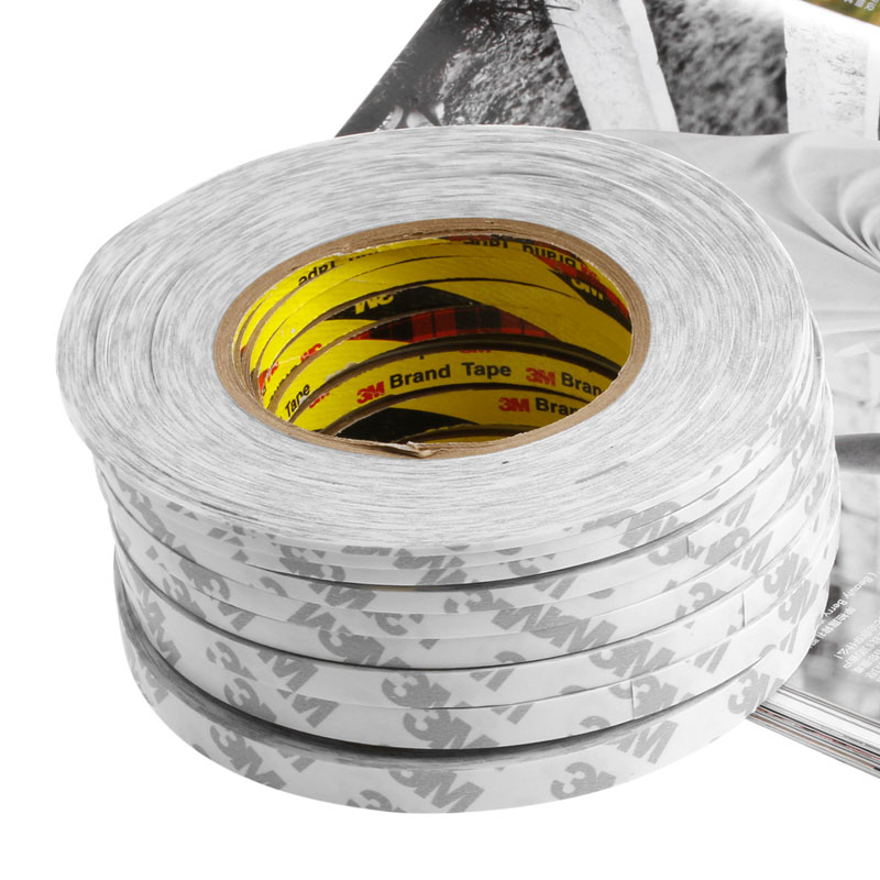 3M Mutifuction Strong Sticky Double Sided Adhesive Tape 2mm-10mm For Mobile Phone LCD Screen