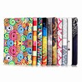 3 in 1 Colorful Smart PU Leather Case Flip Stand Cover Case For Samsung GALAXY Tab E 9.6 T560 T561 SM-T560 9.6+Screen Film+Pen