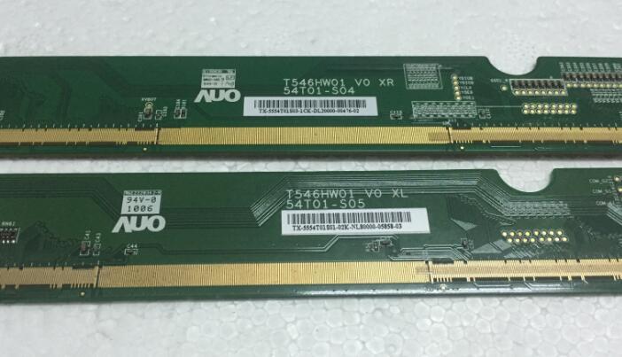T546HW01 V0 XL/XR 54T01-S04/54T01-S05 LCD Panel PCB Part A Pair