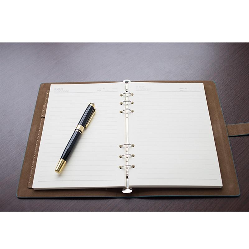 Faux Δερμάτινα Επιχειρηματικά Notebooks - Σημειωματάρια - Φωτογραφία 6