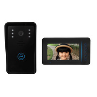 Clearance SY815A11 Wireless 7 Inch TFT Screen Hands Free Intercom Doorbell EU US UK AU PLUG