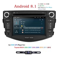 7 Inch 2G RAM Android 8.1 Car DVD Player For Toyota RAV 4 RAV4 2006 2007 2008 2009 2010 2011 2012 Stereo RDS Mirror link Wifi