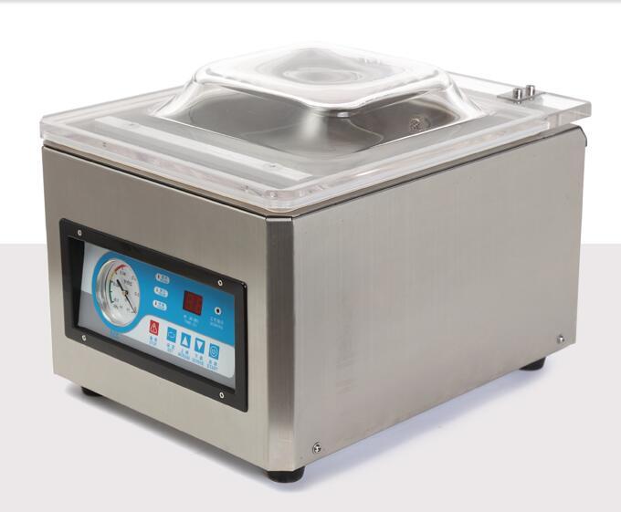 Vacuum Sealer Packing Chamber Aluminum Bags Food Rice Tea