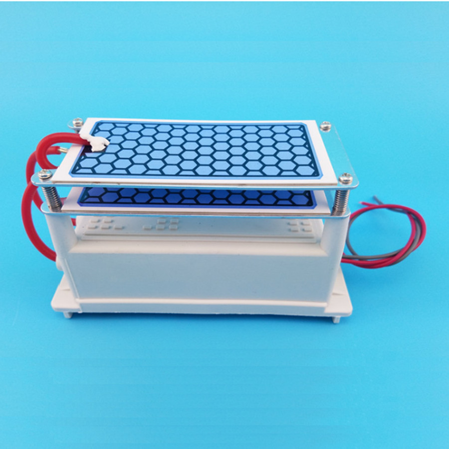 Longlife Intergrated Ceramic Ozone generator Air ozonizer Air purifier parts 10g/h AC 220V/AC110V,DC12V available ceramic plate with ceramic base 5g h ozone generator for ozone generator accessory white 120mm x 50mm