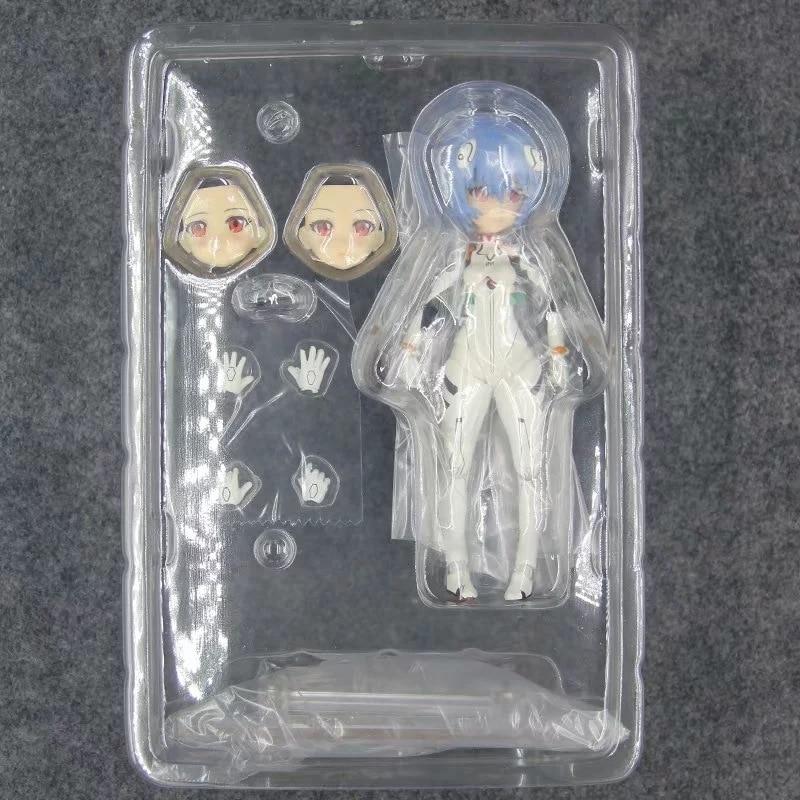 NEW 14cm NEON GENESIS EVANGELION EVA Ayanami Rei Soryu Asuka Langley Action figure toys doll with box