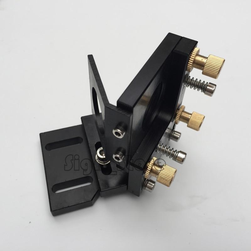 DIY Co2 Laser Deuxième Réflexion Dia 25mm Miroir Mont Soutien Intégrative Support pour Laser de Gravure Machine De Découpe
