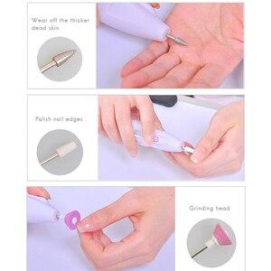 Image 3 - Ensemble de vernis à ongles électrique Portable pratique, outil de polissage des ongles, outil personnel de manucure et pédicure