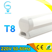 PVC Plastic 10W LED Tube Light 220V 240V 60cm LED Wall Lamp Cold White LED Fluorescent T8 Neon LED T8 Lamp