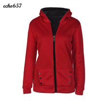 Winter Coat New Design Echo657 Hot Sale Women Warm Winter Cotton Blend Hooded Coat Parka Overcoat Long Outwear Clothes Nov 28 GH