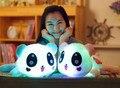 Световой Игрушка-Панда Свет Плюшевые Куклы Glow Подушка Подушка Подарок На День Рождения 35 см