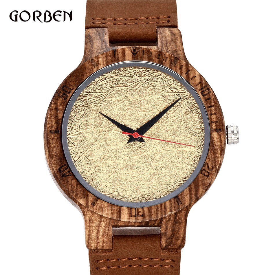 Simple Unique Bamboo Wood Handmade Quartz Watch women men leather Wooden wristwatches clock Relogio Masculino relogio feminino unique handmade natural bamboo wood watch analog mens simple quartz wristwatch male genuine leather relogio masculino esportivo