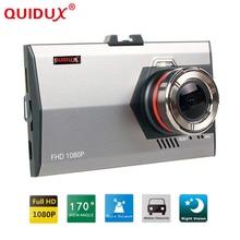 QUIDUX Car DVR Dash Cam 3.0 Inch 1080P FHD Car Camera Recorder Video Registrar Driving Recorder Cam corder Night Vision