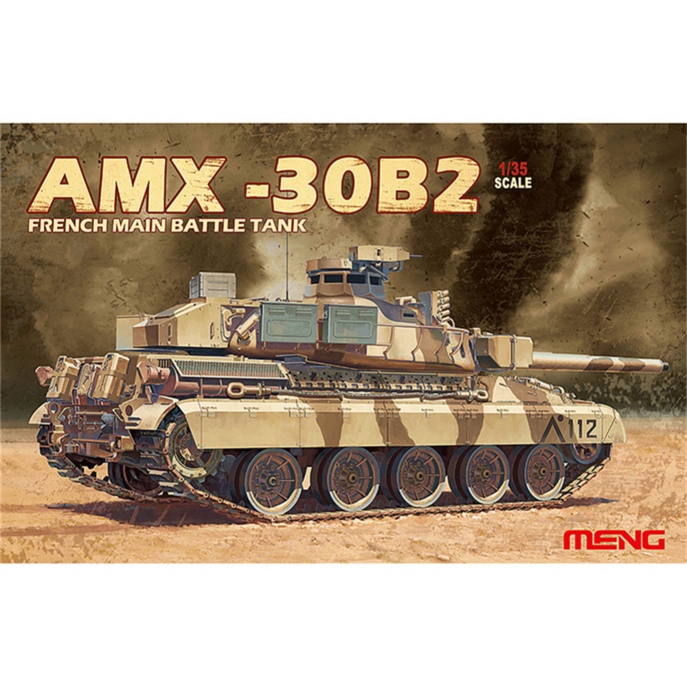 OHS Meng TS013 1/35 AMX-30B2 French Main Battle Tank MBT Military AFV Model Building Kits ohs meng ts015 1 35 german main battle tank leopard 1 a5 military afv model building kits