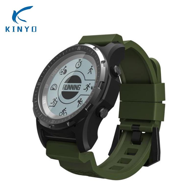 New S966 Smart Watch Men GPS Fitness Tracker Wristwatch Waterproof ip67 Compass S966 Smartwatch Sport Clock Heart Rate Monitor