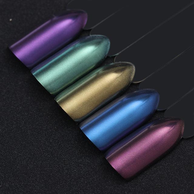 1g Mirror Chameleon Nail Glitter Powders