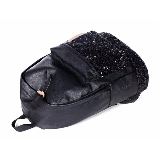 BAIJIAWEI Children Backpack In Primary School Sequins Teenage Children's School Bag Mochila Escolar for Girls Waterproof Bags