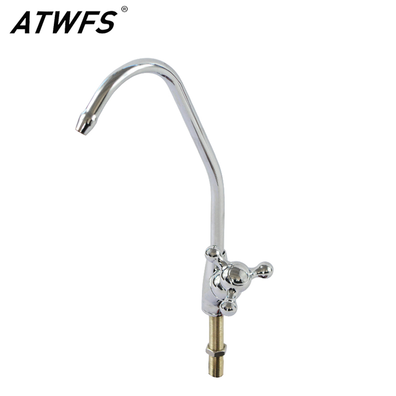 Home Appliances Atwfs New Lead Free Stainless Steel Material High Quality Water Filter Tap Kitchen Ro Faucet 1/4 Inch Connect Hose Easy To Lubricate